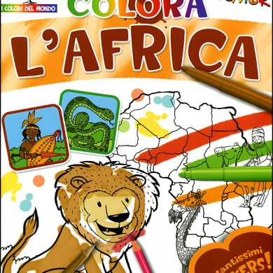Colora l'Africa - testi M. Bertarini - Touring Junior 2008
